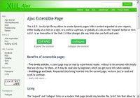 Ajax Extensible Page pour mac