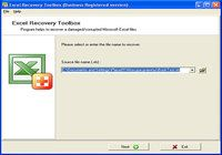 Excel Recovery Toolbox pour mac