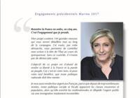 Programme Marine Le Pen - Présidentielle 2017 pour mac