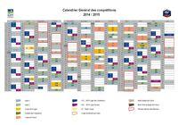 Calendrier général des compétitions de football 2014/2015 pour mac