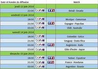 Diffusion de la coupe du Monde 2014 pour mac