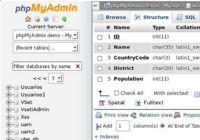 phpMyAdmin pour mac