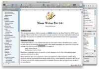 Nisus Writer Pro pour mac