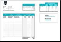 Suivi des indemnités kilométriques Excel pour mac