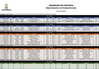 Calendario Copa Libertadores 2019 (fase 1 - fase de grupos) pour mac