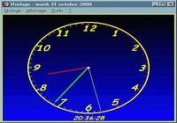 Horloge pour mac