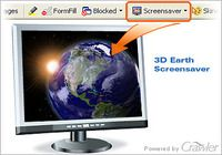 Crawler 3D Earth Screensaver