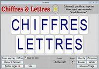 Chiffres et Lettres pour mac