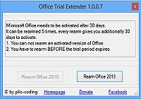 Office Trial Extender pour mac