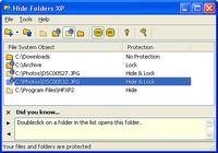 Hide Folders XP pour mac