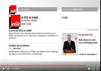 France Inter en vidéo pour mac