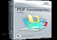 Wondershare PDF Converter Pro pour Mac pour mac