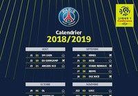 Calendrier PSG Ligue 1 2018-2019 pour mac