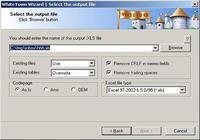 DBF to XLS (Excel) pour mac