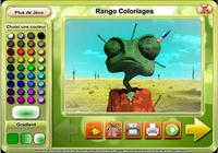 Rango Coloring Game