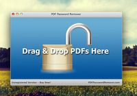 PDF Password Remover Mac pour mac