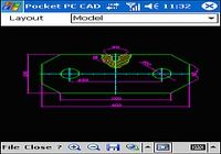 Pocket PC CAD Viewer: DWG, DXF, PLT pour mac