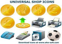 Universal Shop Icons pour mac