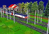 Miniature Train Simulator pour mac
