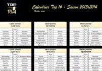 Calendrier top 14 - Saison 2013/2014 pour mac