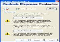 Outlook Express Protector pour mac