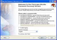 Mozilla Password Recovery