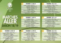 Calendrier Ligue 2 2018 - 2019  pour mac