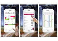 Calendrier d'ovulation et règles Ladytimer iOS pour mac