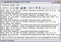 Log Monitor Export pour mac