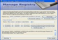 Manage Registry ActiveX Control pour mac