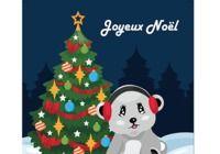 Carte de Noël 2018 au format Word pour mac