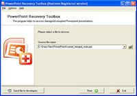 PowerPoint Recovery Toolbox pour mac