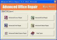 Advanced Office Repair pour mac