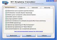 NT Registry Tweaker pour mac