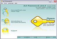 Act! Password pour mac