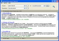 Instant Document Search pour mac