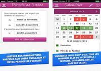 Mon ovulation : calendrier de fertilité iOS pour mac