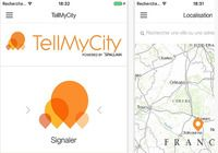 TellMyCity Android pour mac