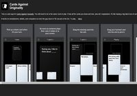 Cards Against Originality pour mac