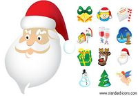 Standard Christmas Icons pour mac