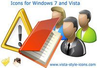 Icons for Windows 7 and Vista pour mac