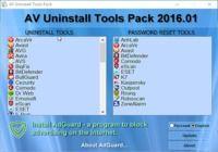 AV uninstall Tools  pour mac