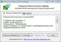 Password Recovery for Digsby pour mac