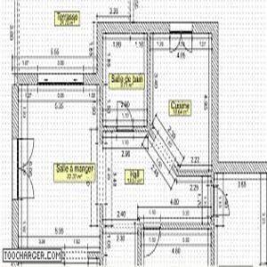 t l charger architecture 3d plan 2d gratuit. Black Bedroom Furniture Sets. Home Design Ideas