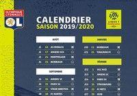 Calendrier OL Ligue 1 2019-2020 pour mac