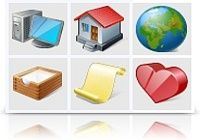 Vista Artistic Icons pour mac