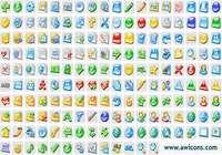 3D Aqua Icons Collection pour mac