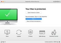 Kaspersky Internet Security for Mac pour mac