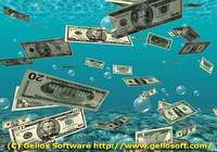 100 Happy Money Screensaver pour mac