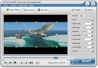 AVI to FLV/GIF Converter pour mac